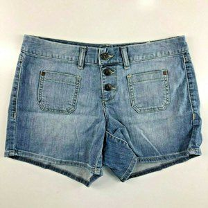 """Tommy Hilfiger Button Fly Shorts 4 28x4"""" CX24"""